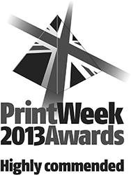 Print Week Awards highly commended